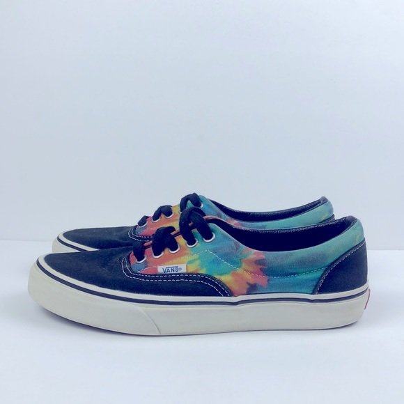 Women Vans Classic Tie Dye Shoes Size 8.5